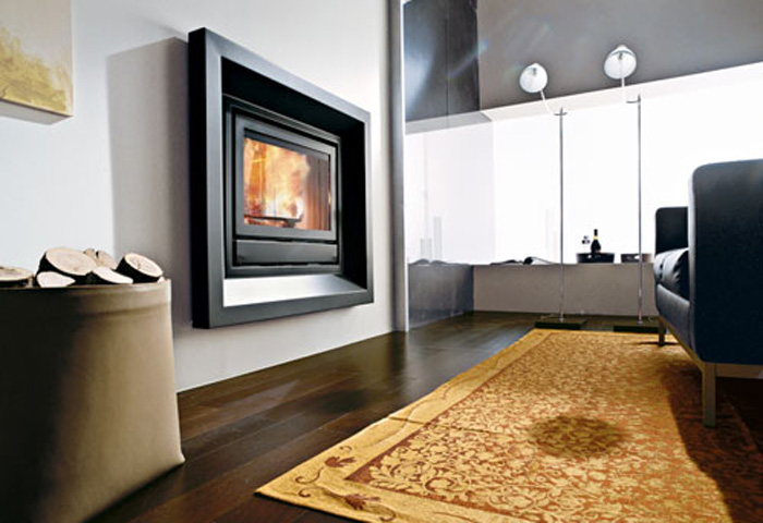 habillage insert pellets edilkamin flammes de jade po le chemin e thermopo le bois. Black Bedroom Furniture Sets. Home Design Ideas