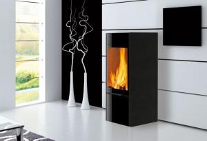 edilkamin po le bois coral 1 flammes de jade. Black Bedroom Furniture Sets. Home Design Ideas