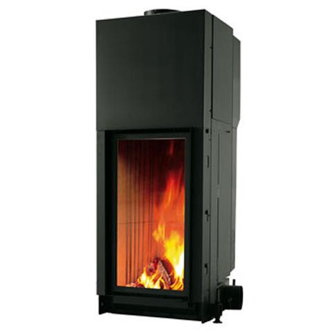 cristal mod 45 flammes de jade po le chemin e thermopo le bois pellets saint. Black Bedroom Furniture Sets. Home Design Ideas