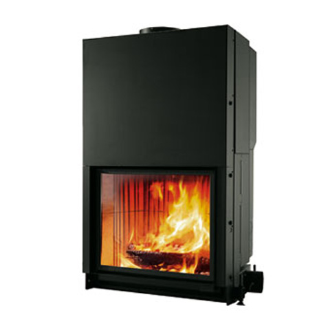 cristal mod 76 flammes de jade po le chemin e thermopo le bois pellets saint. Black Bedroom Furniture Sets. Home Design Ideas