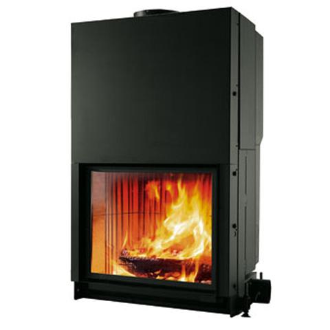 cristal mod 90 flammes de jade po le chemin e thermopo le bois pellets saint. Black Bedroom Furniture Sets. Home Design Ideas